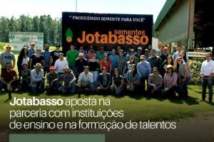 Da academia para o campo: Jotabasso aposta na parceria com instituições de ensino  e na formação de talentos