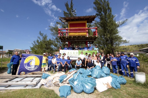 SulGesso realiza mutirão de sua Ação Praia Limpa