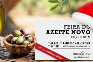Feira do Azeite Novo traz edição especial de Natal