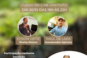 Divinut promove novo curso técnico de Implantação e Manejo da Nogueira-pecã