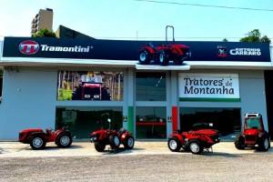 Marca italiana inaugura primeira loja de tratores em Bento Gonçalves