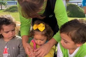 SulGesso leva educação ambiental para crianças do Ateliê Viver e Aprender
