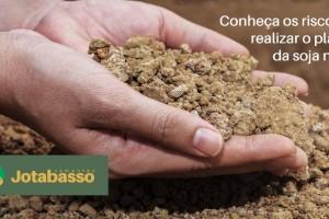 Plantar soja no pó pode comprometer 50% da produtividade da safra